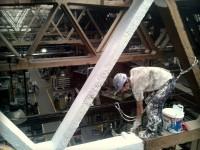 Natieranie stropnej konštrukcie vo výškach